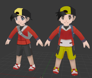 Ethan / Gold (Omega Ruby / Alpha Sapphire style) by OrdoMandalore