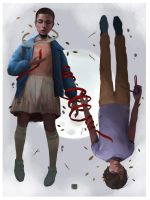 eleven x mike by dominic-barrios