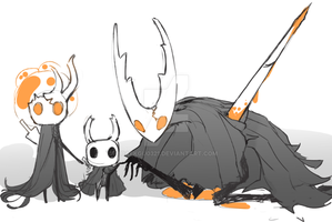 hollow knight, broken vessel by Baekgu0321