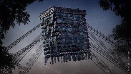 Buildings Have Feelings Too I by coisital