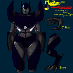 Madrush  REDESIGN  by Kigurou