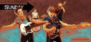 Franz Ferdinand Right Action by mstrychowska