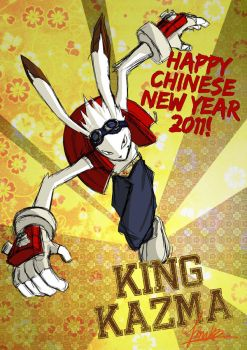 Happy Chinese New Year 2011. by blingzai