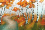 First Snow of Fall by Aekaitz