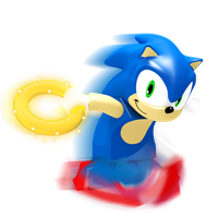 Lego Sonic Render by JaysonJeanChannel