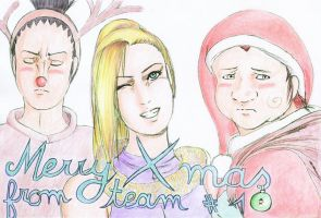 Merry Christmas from Team 10 by Pencilivy