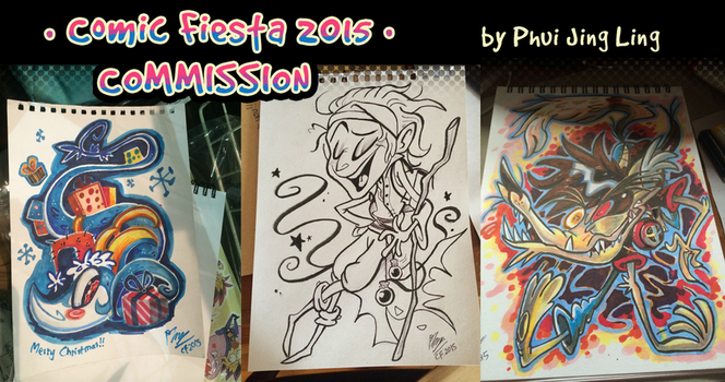 Comic Fiesta 2015 commission by PhuiJL