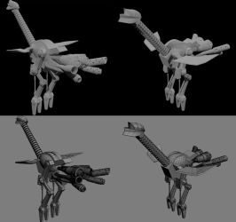 WIP: Mechano Strider by linkitch