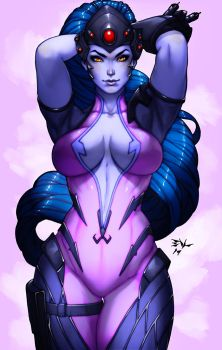 Widowmaker Overwatch by ErikVonLehmann