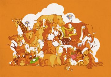 I love all kind of animals... by Flipsi