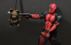 Deadpool 2 by woodunart