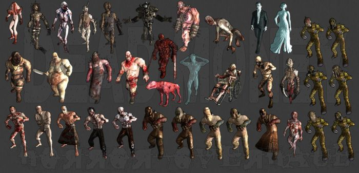 Dead Money Horror Overhaul *in-game gallery linked by dragbody