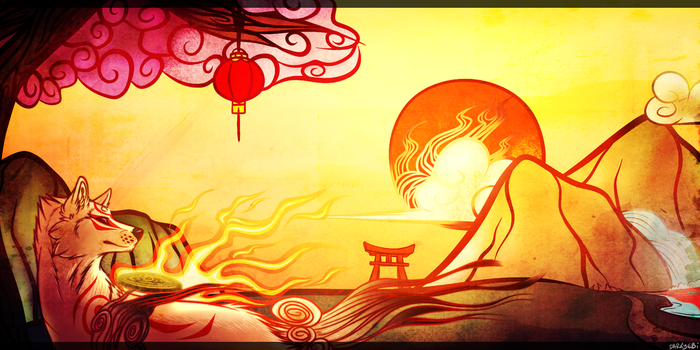 On the sunset of the Red sun by SMASH-ii