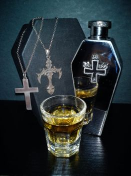 Whiskey, Coffins and Crosses by Bestygoth