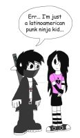 Dark Prince and the emo girl by DarkPrince2007