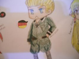 Germany Chibi by The-Adorable-Psycho