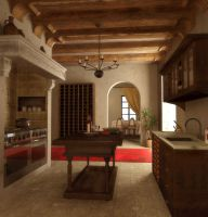 a kind of kitchen by gurgur