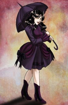 Gothic Lolita Althea by raerae