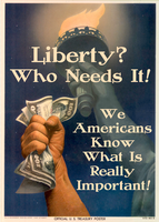 Liberty? Who Needs It! by poasterchild