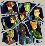 Doctor Who, Worlds in Time by Girl-on-the-Moon