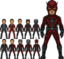 Marvel Cinematic Universe Ant-Man/Giant-Man by ElOsoUgui99