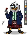 Flintheart Glomgold (Coloring) by Yulia-a-99