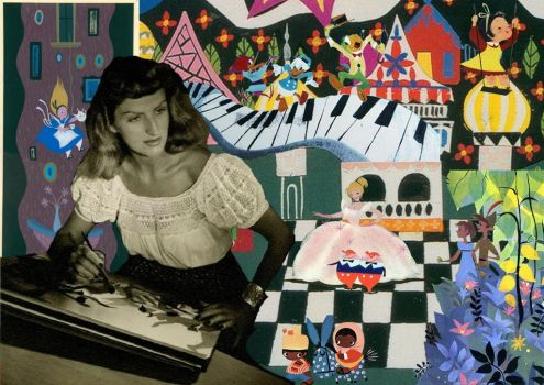 Mary Blair Montage by JordynGowens