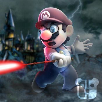 Super Mario Potter by PeterisBeter