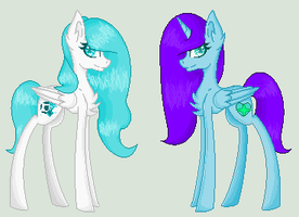 Starshine and Chelsea Pagedoll by ShadowDash1356