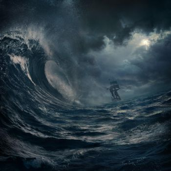 wave storm by Alcove