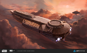Bespin Cloud Cruiser by apeldille