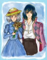 Howl's Moving Castle_Colored by asami-h