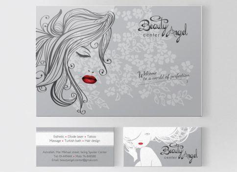 Beauty Angel: corporate identity by farandoledesign