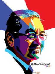 WPAP MAHATHIR MOHAMAD by wedhahai