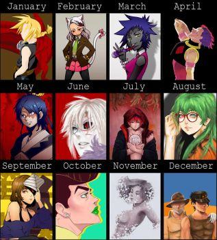 2015's Art Summary by amyenah