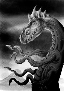 Tentacled Creature by kenfreelance