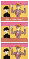 a reference no one asked for [Mob Psycho 100] by loopusOMG