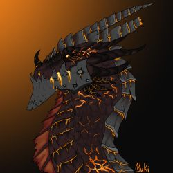 Deathwing the Destroyer by JukiDragoness