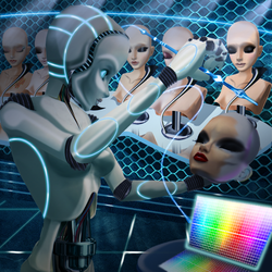 ::imvu Handcrafted by robots:: by Original-Hypnotika
