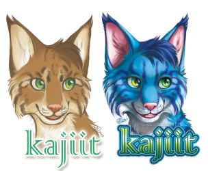 Kajiit Badge - Before And After by GoldenDruid