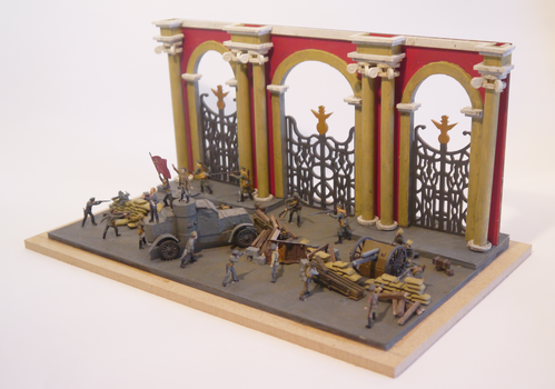 Storming of the Winter Palace Diorama 1 by Party9999999