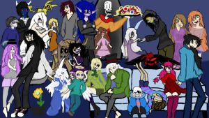 I Present to you CreepyPasta by RoseyBloomThehedghog
