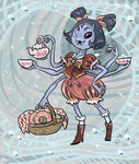 Muffet says it's teatime! by shivikai