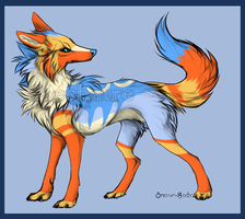 If Xeshaire had a normal Fox form. by Xeshaire