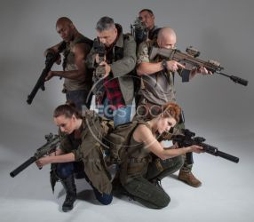 Post Apocalyptic Group 17 - Stock Photography by NeoStockz
