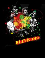 Blink 182 by Madziuch