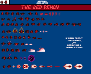 The Red Demon by SteveThao21