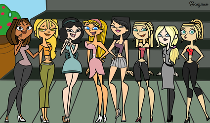 Total Drama - Girls Day Out by EvaHeartsYou
