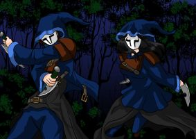 Patreon Request Week 20 - Masked Assassins by Imbriaart