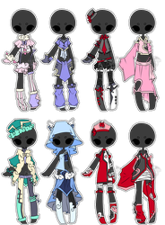 .:Adopted:. Outfit Batch 01 by DevilAdopts